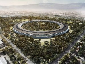 Apple's plans for new headquarters in Cupertino