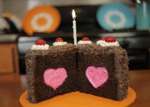 A cake by Rosanna Pansino