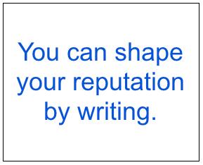 Shape your reputation