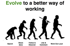 Evolving the way we work