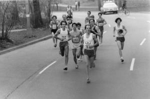The first NYC Marathon in 1970