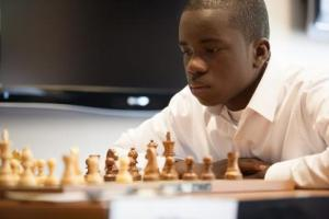 "Justus Williams, chess master & one of the stars of ""Brooklyn Castle"""