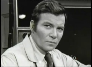 Shatner as Milgram
