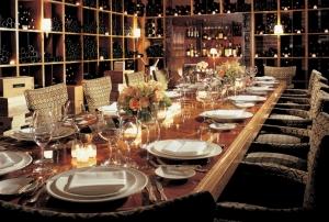 A strange & beautiful dinner
